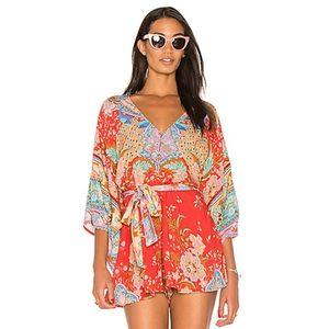 Spell Lotus Kimono Romper